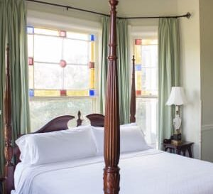 Beatrice Parker Gordon Bedroom, Milton Parker Home, Luxury B&B in Bryan, TX