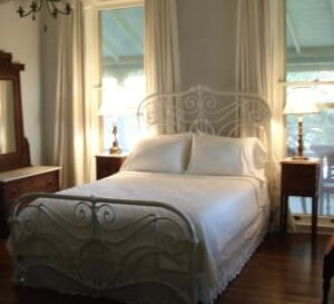 Mary Parker Carr Bedroom, Milton Parker Home, Luxury B&B in Bryan, TX