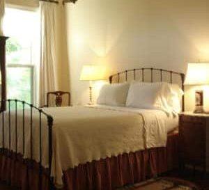 Winifred Parker Bain Bedroom, Milton Parker Home, Luxury B&B in Bryan, TX